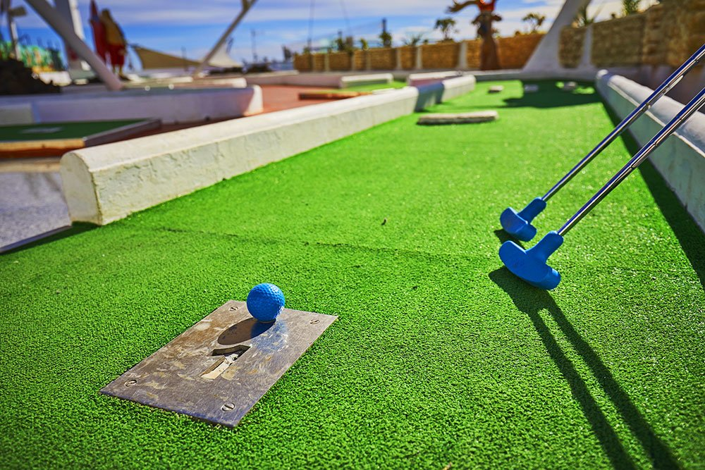 mini golf lanzarote