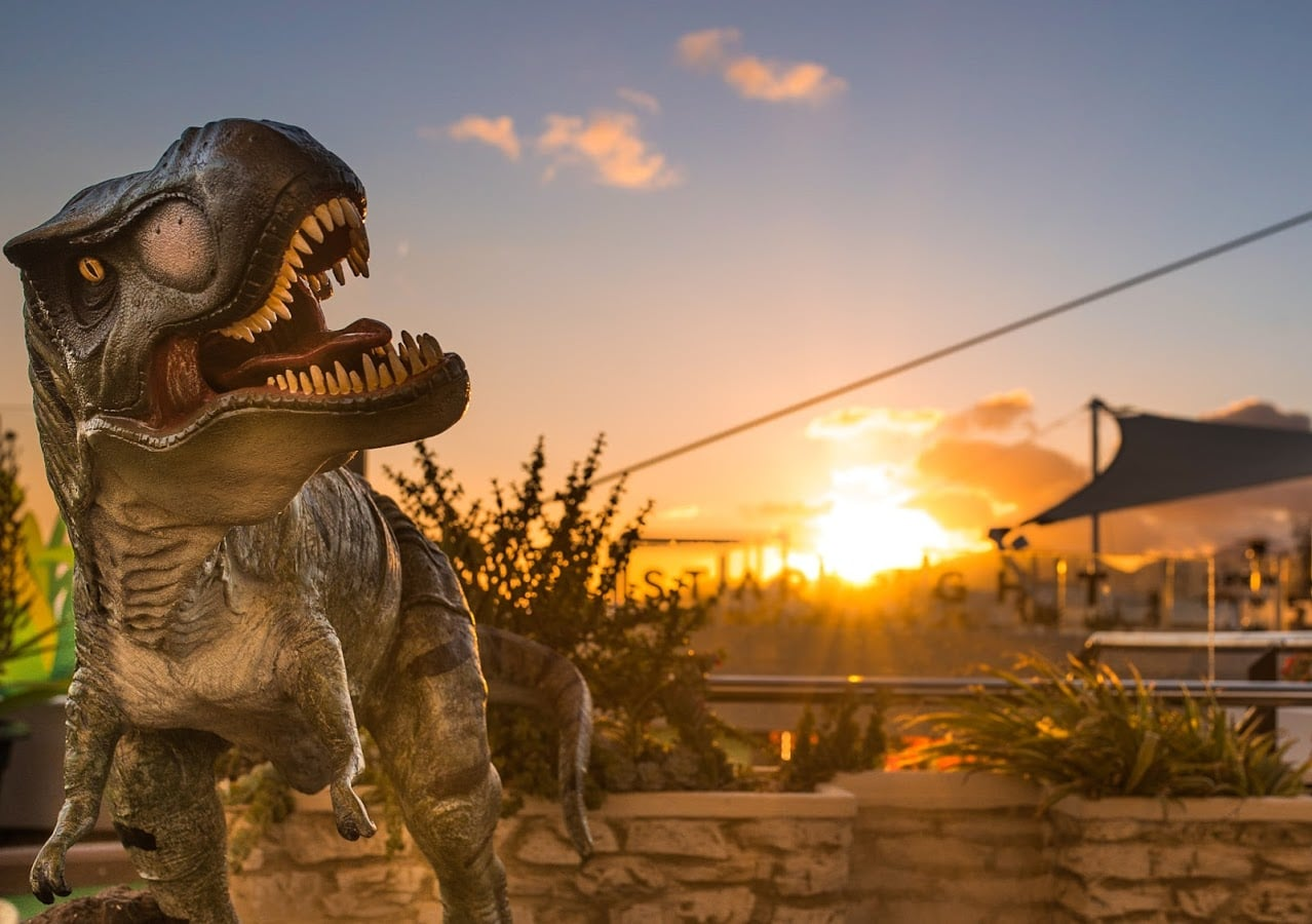 Jurassic World Crazy Golf Puerto del Carmen Lanzarote Tourist Attraction Eyez - @eiranbailey