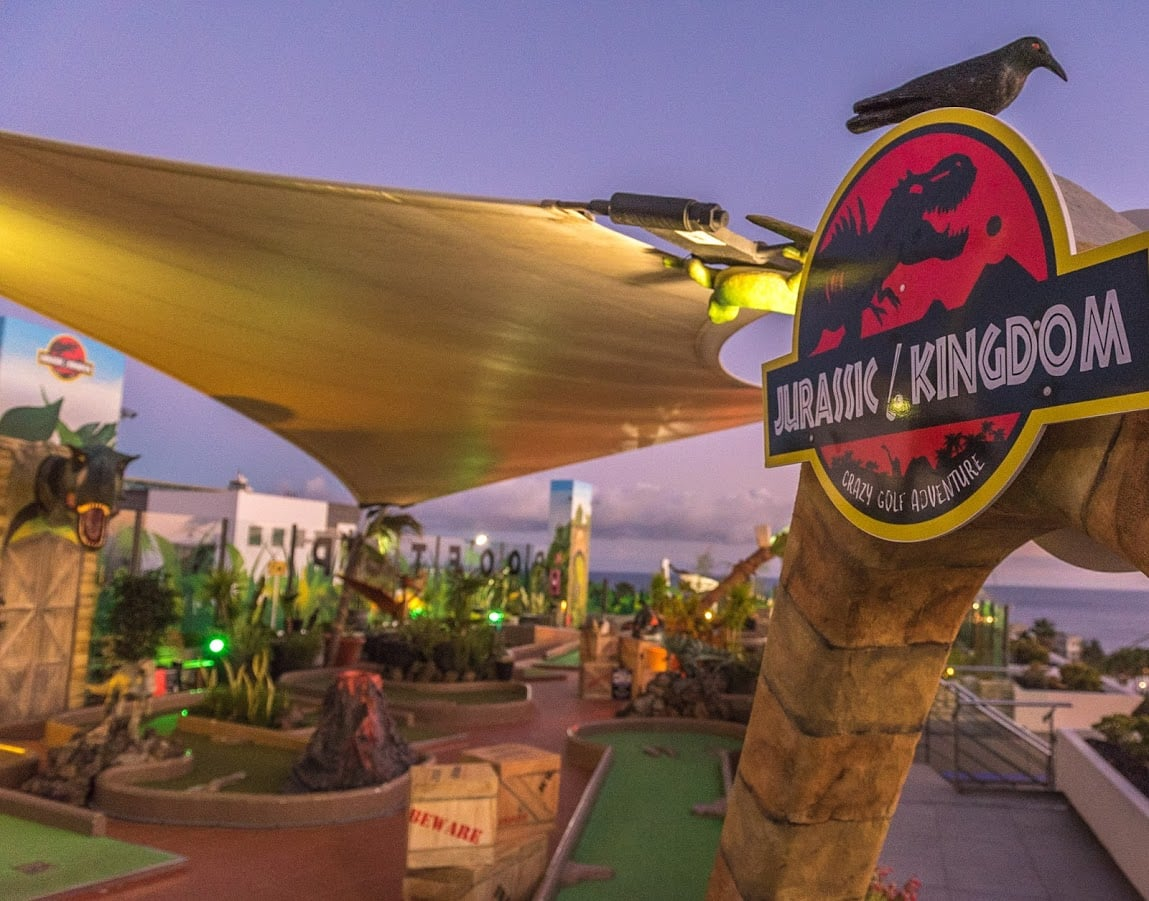 Jurassic Kingdom, best Crazy Golf in Lanzarote