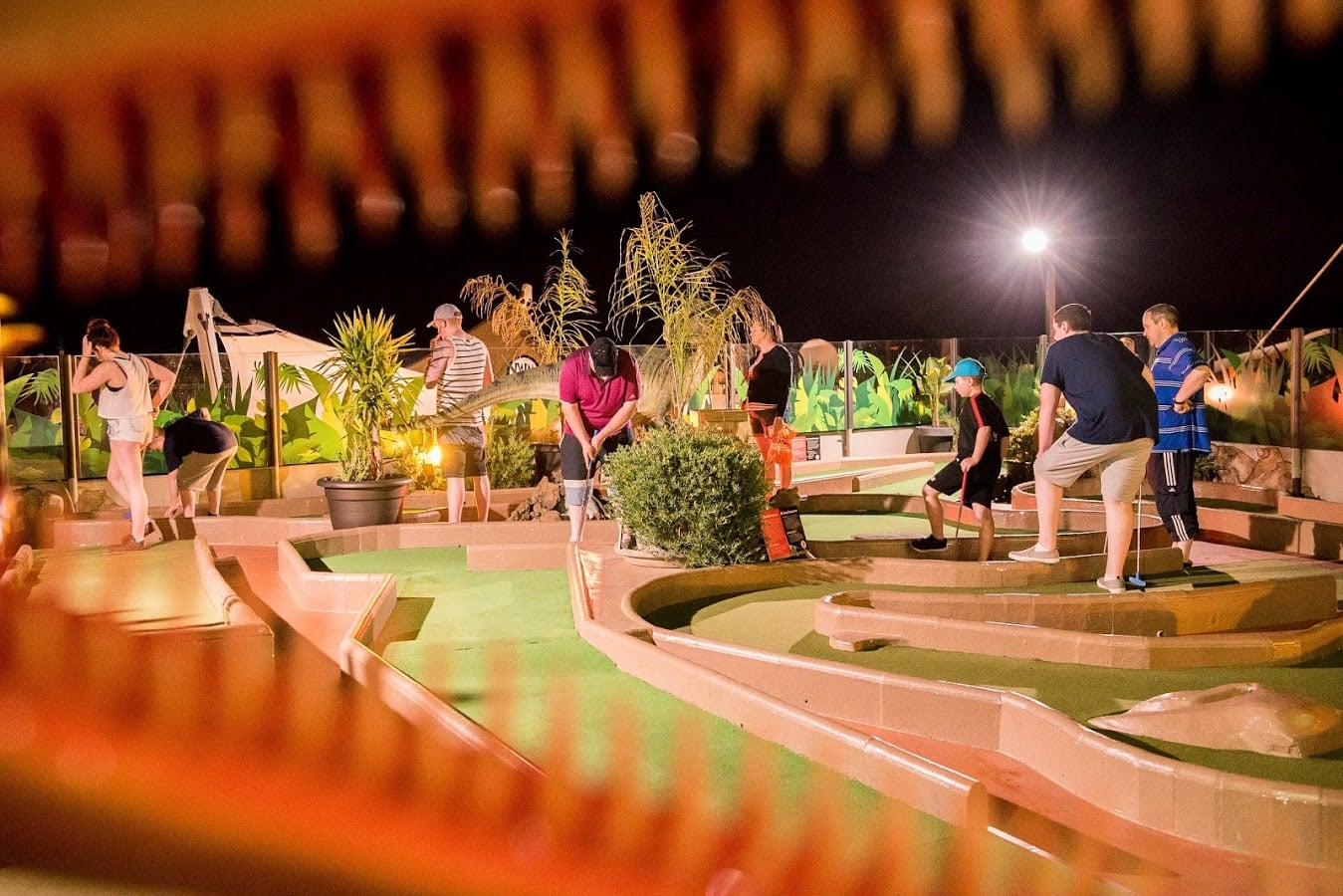 easter 2018 mini golf puerto del carmen