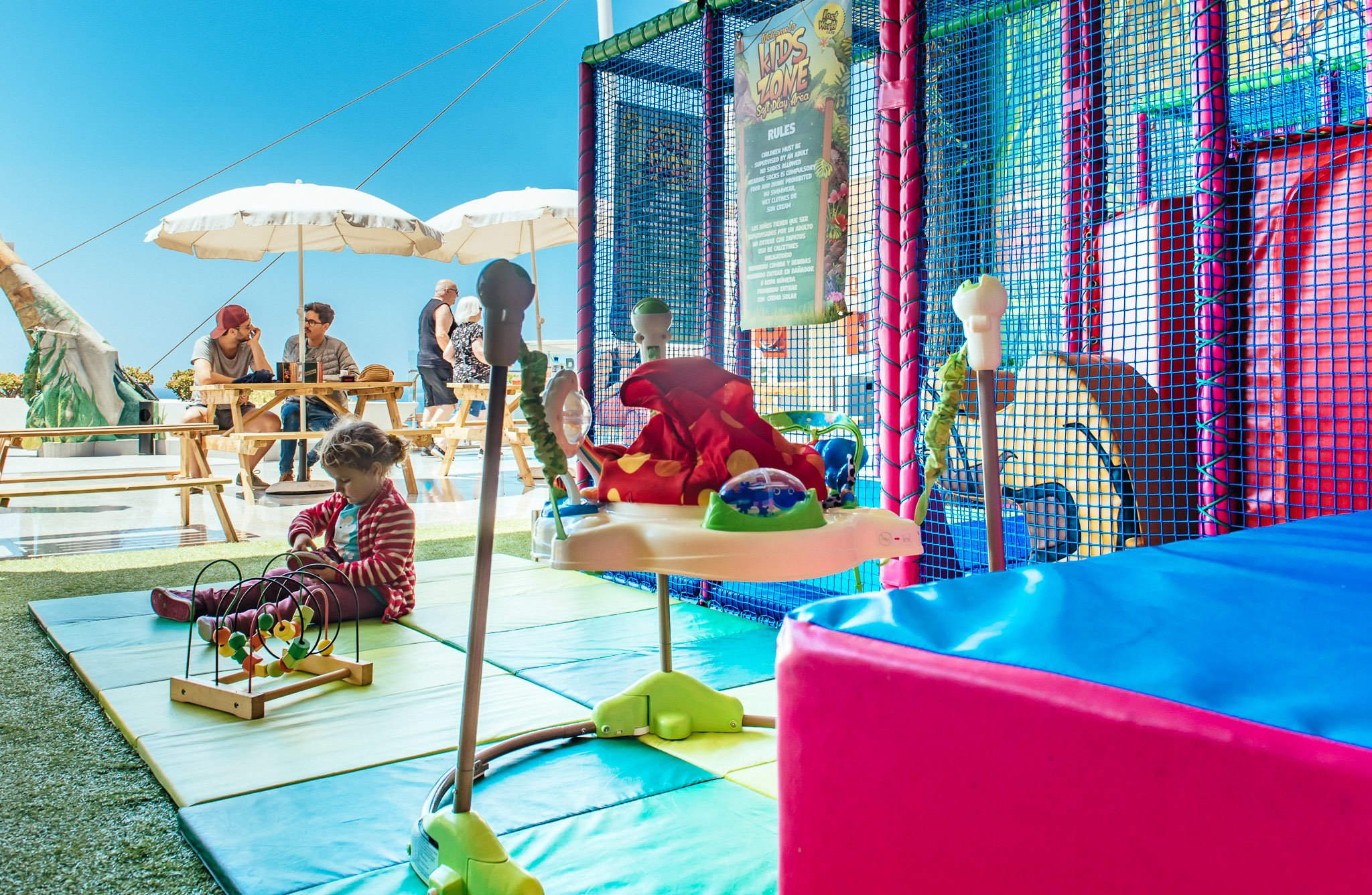 Puerto del Carmen Childrens Soft Play Ball Park