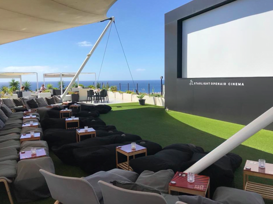 Rooftop English Cinema Puerto del Carmen Lanzarote Seating Plan