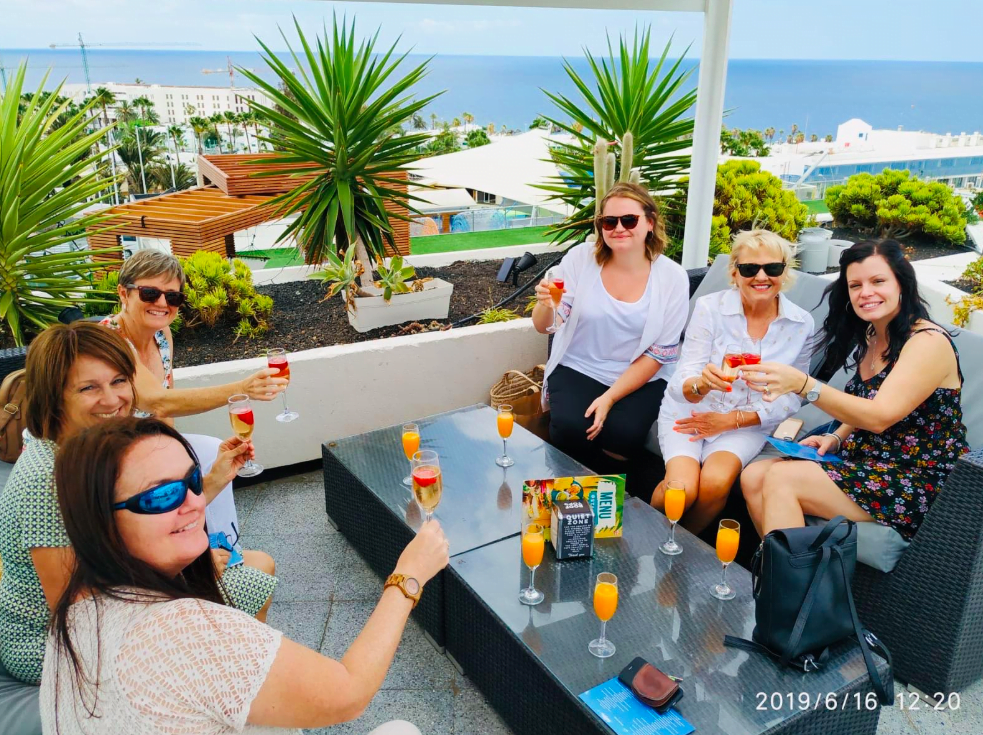 rooftop lanzarote chillout lounge in puerto del carmen